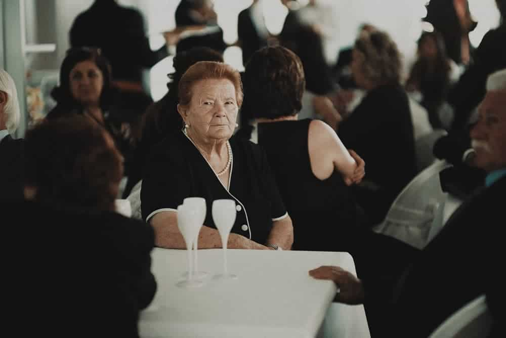 picture of a living funeral