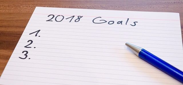 list of 2018 goals
