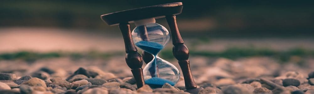 Hourglass Blue Rock